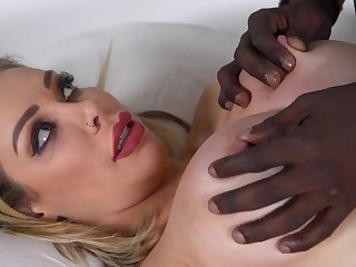 Buxom mommy Chessie Kay has relaxation hither Antonio Black