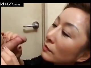 Japanese Movie Mother I´d Like To Lady-love Teach Son Intercourse - stroking
