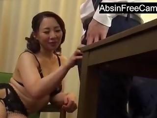 Japanese Housewife Seduce Boss for Prevalent Insistent