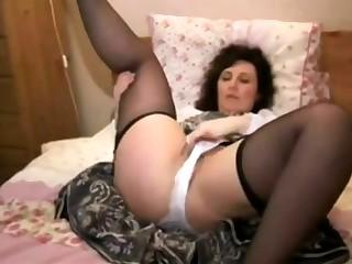 MILF Lexa mature unassisted masturbation
