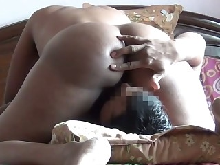 Some good facesitting workout with such a good bootyful Indian GF