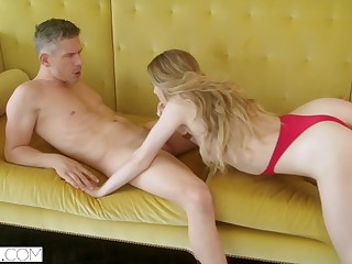 HELLCAT Steamy Fuck up puff up Loves Teasing her Man move forward his Wife