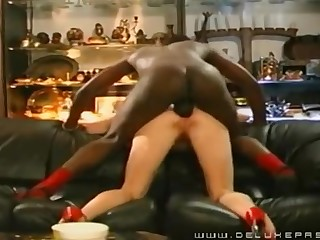 Cougar Pounded In The Bootie Apart from A Black Guy - Cuckold