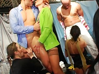 Wild group sex party with lot be advantageous almost swinger couples who love almost share