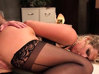 Co-op give credence to worker fuck tied blonde slut